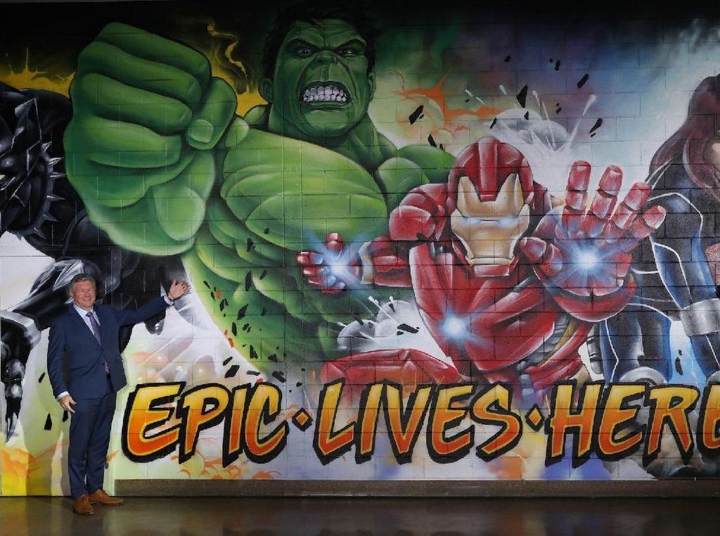 Australia Bakalan Punya Stadion Bertema Superhero Marvel