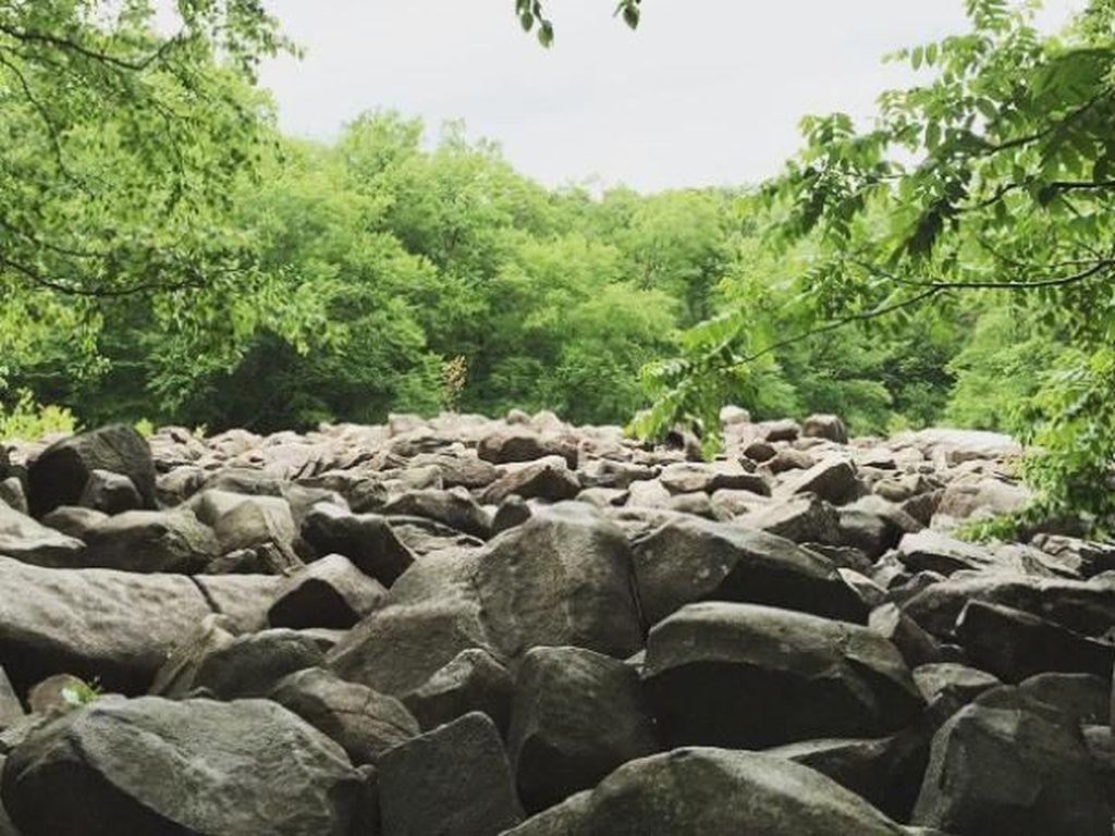 Foto: Batu-batu Misterius yang Berbunyi Seperti Bel