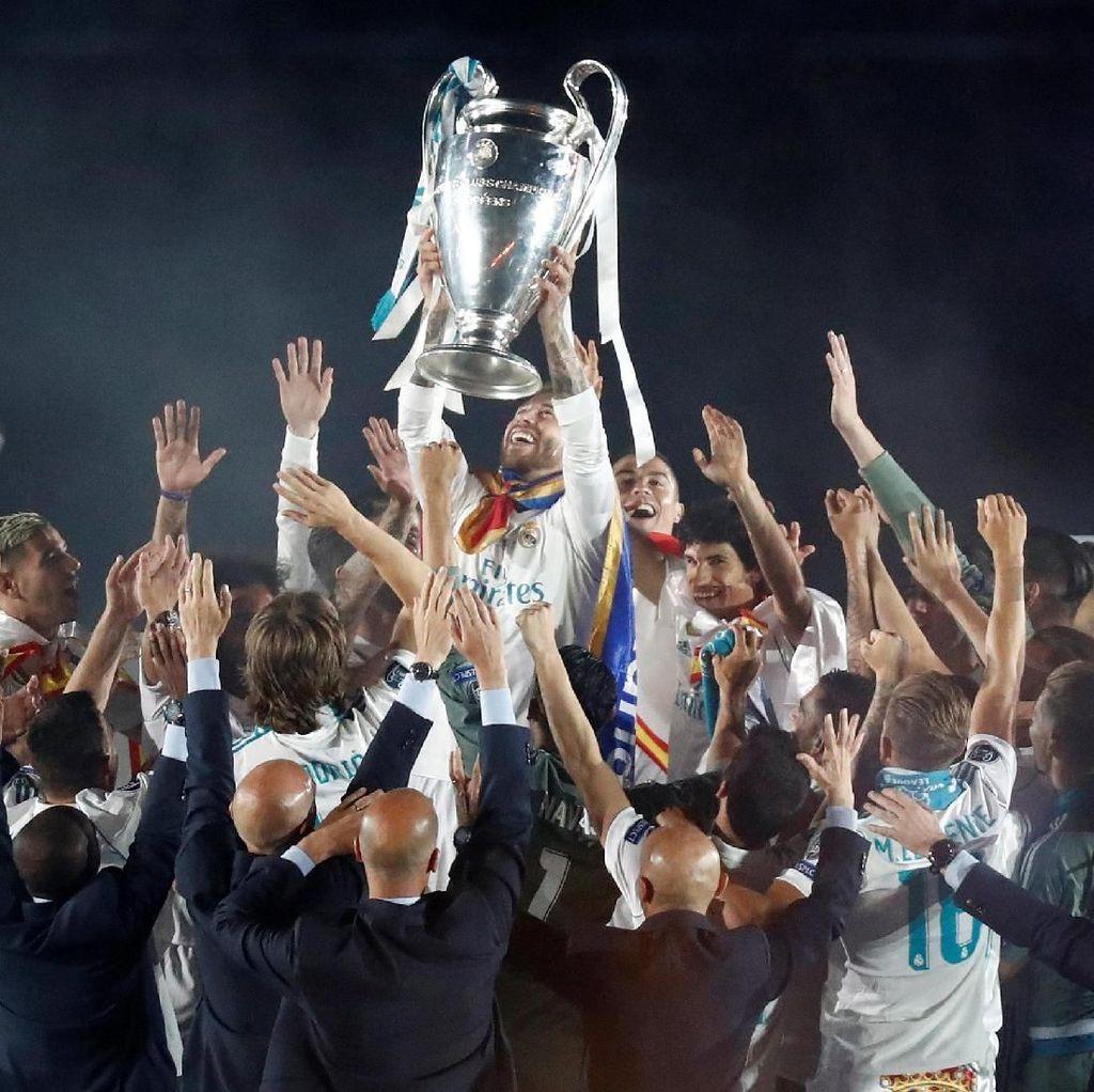 Dominasi Real Madrid di Tiga Dekade Berbeda Liga Champions