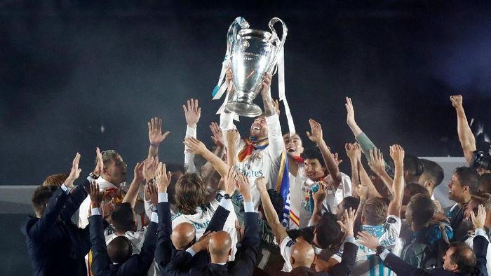 Real Madrid jadi juara Liga Champions tiga musim terakhir (Javier Barbancho/Reuters)