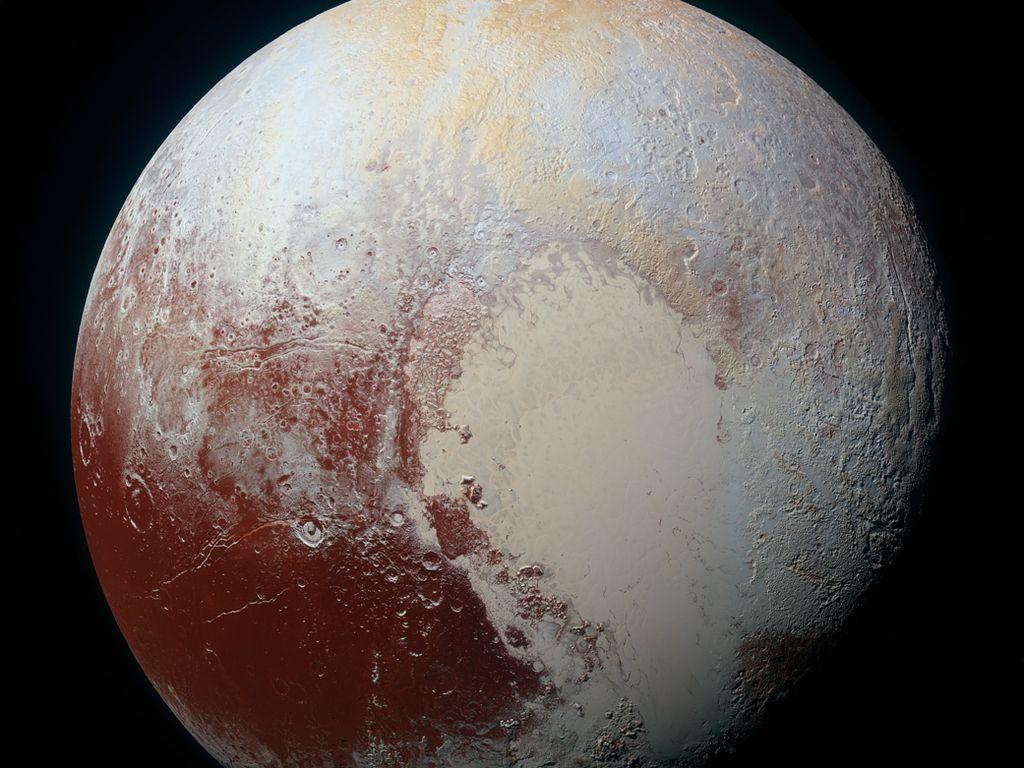 Bos NASA Deklarasikan Pluto Jadi Planet Lagi