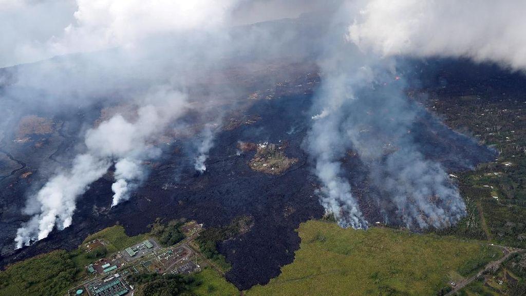 Foto: Gunung Berapi Paling Aktif Sedunia yang Dibuka Kembali