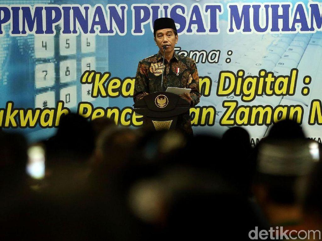 Jokowi Hadiri Kajian Ramadan di Kampus Uhamka