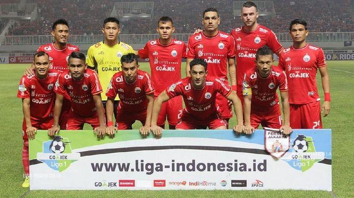 Persija Jakarta. (Foto: Dokumentasi PT. Liga Indonesia Baru)