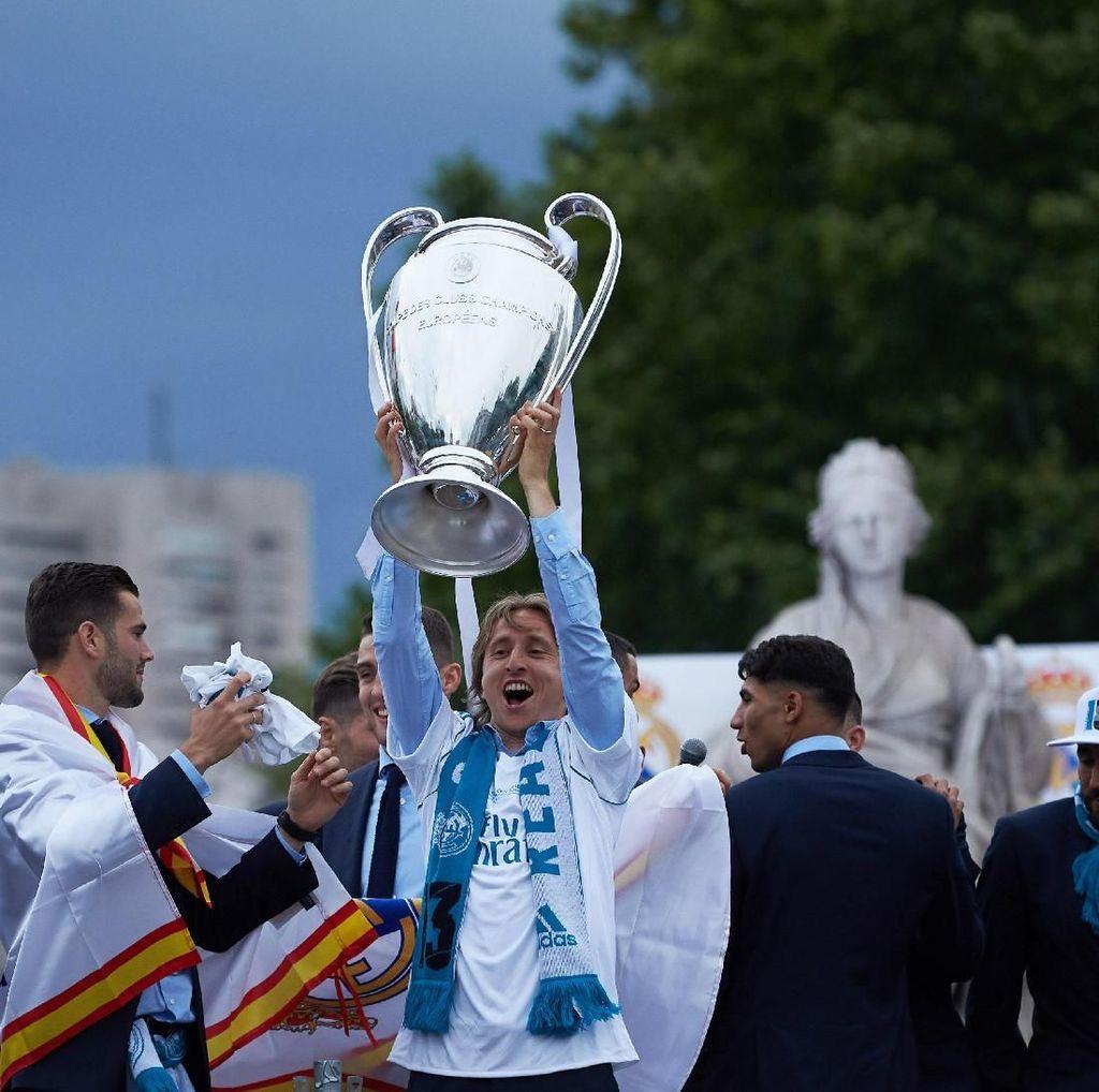 Modric Ragu Klub Lain Bisa Ulangi Kesuksesan Madrid di Liga Champions