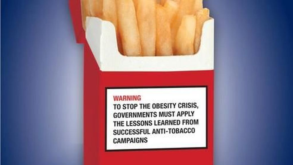 Foto: Mungkin Begini Kalau Junk Food Dijual Seperti Rokok