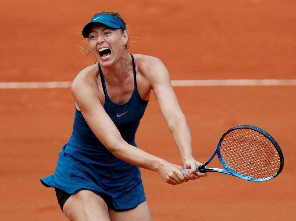 Sharapova Tandai Comeback di Prancis Terbuka dengan Kemenangan