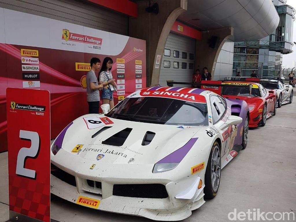 Renaldi Pede Bisa Finis Posisi 3 hingga Akhir Kompetisi Ferrari