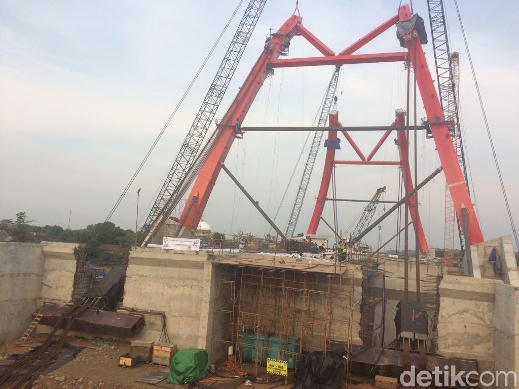 Besok, Jembatan Kalikuto Jawa Tengah Bisa Dilewati