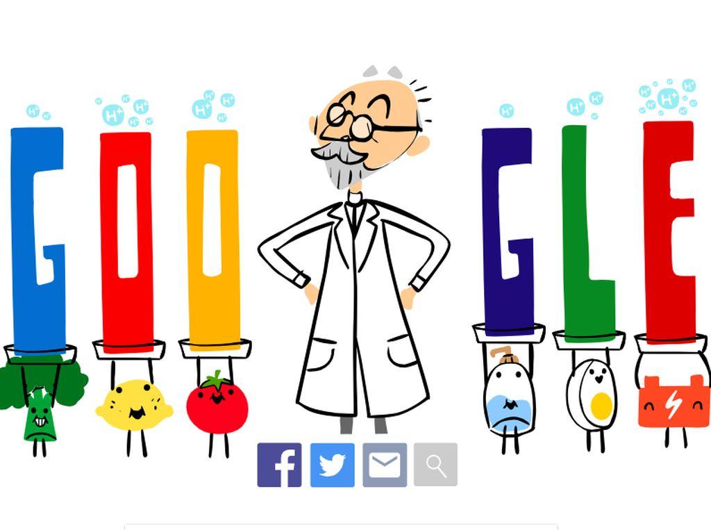 Siapa S.P.L Sorensen Ahli Kimia di Google Doodle Hari Ini?