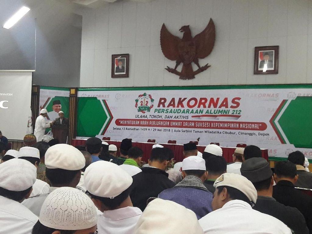 Adhyaksa Dault: Pak Jokowi Masuk Daftar Capres di Rakornas PA 212