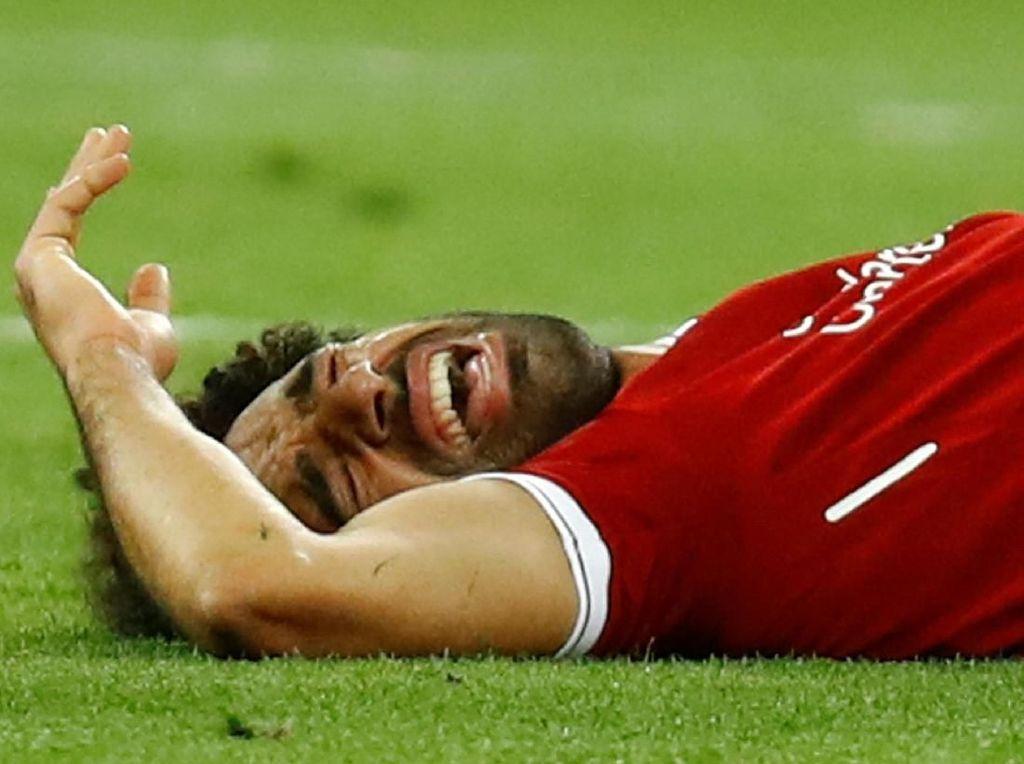 Salah Buka Suara soal Cedera di Final Liga Champions