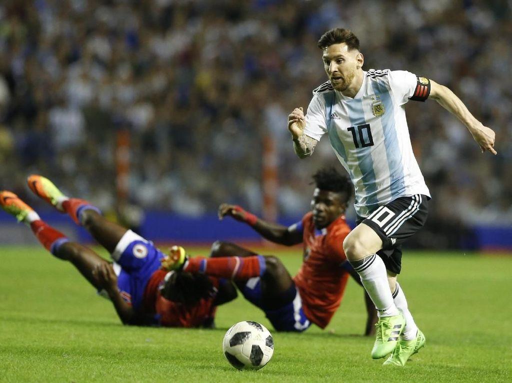 Protes Israel Vs Argentina, Warga Palestina Ancam Bakar Jersey Messi