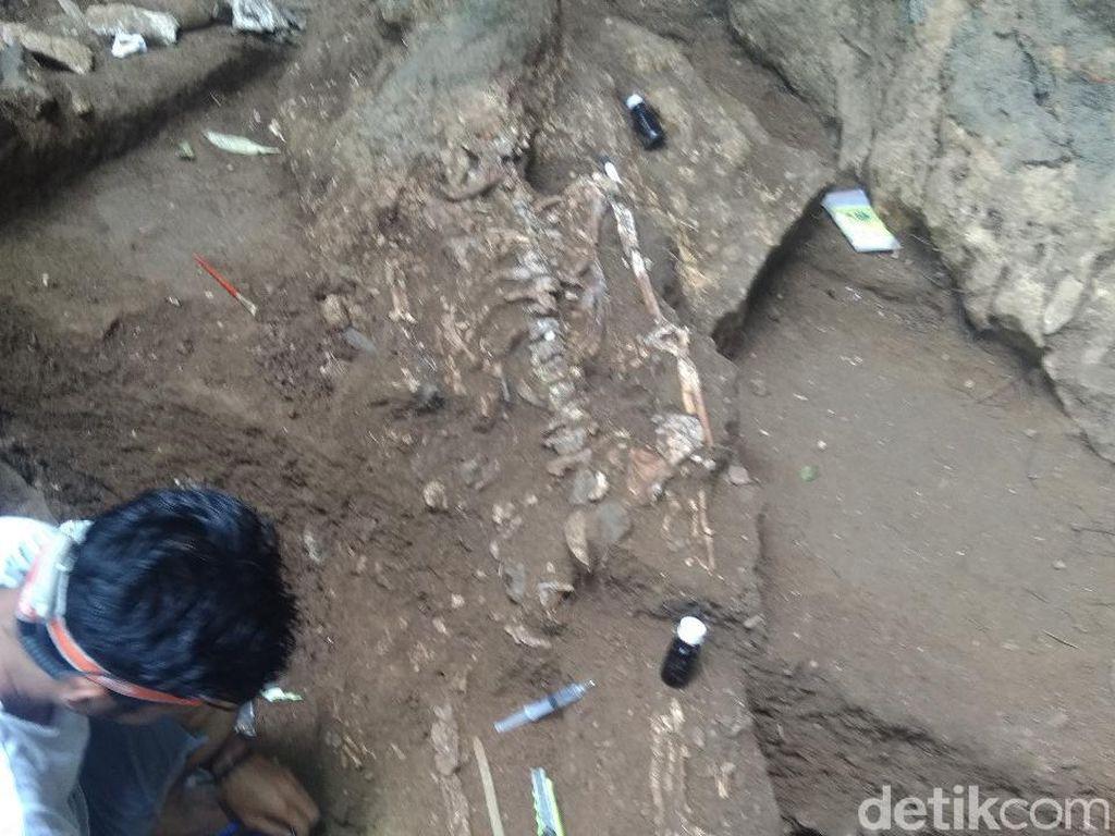 Kerangka di Gua Jarie Sulsel Bisa Ungkap Penduduk Asli Nusantara