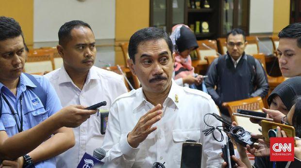 Kepala Badan Nasional Penanggulangan Terorisme (BNPT) Komisaris Jenderal Suhardi Alius, Jakarta, Rabu (30/5).