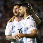 Aguero Disentil Messi