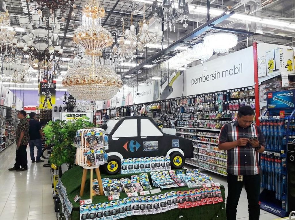 Temukan Promo Pembersih Mobil di Transmart Carrefour