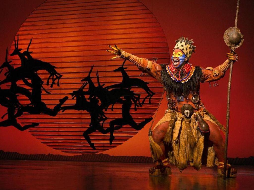Musikal The Lion King Kembali Dipentaskan di Singapura