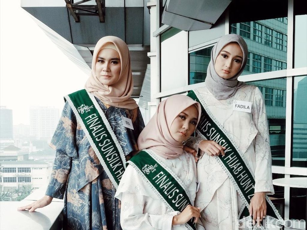 Serunya Finalis Sunsilk Hijab Hunt 2018 Kunjungi Kantor detikcom