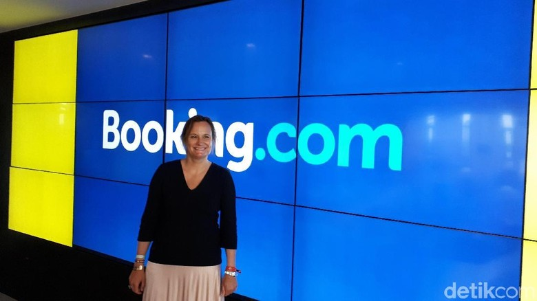 Gillian Tans, CEO Booking.com (Afif Farhan/detikTravel)