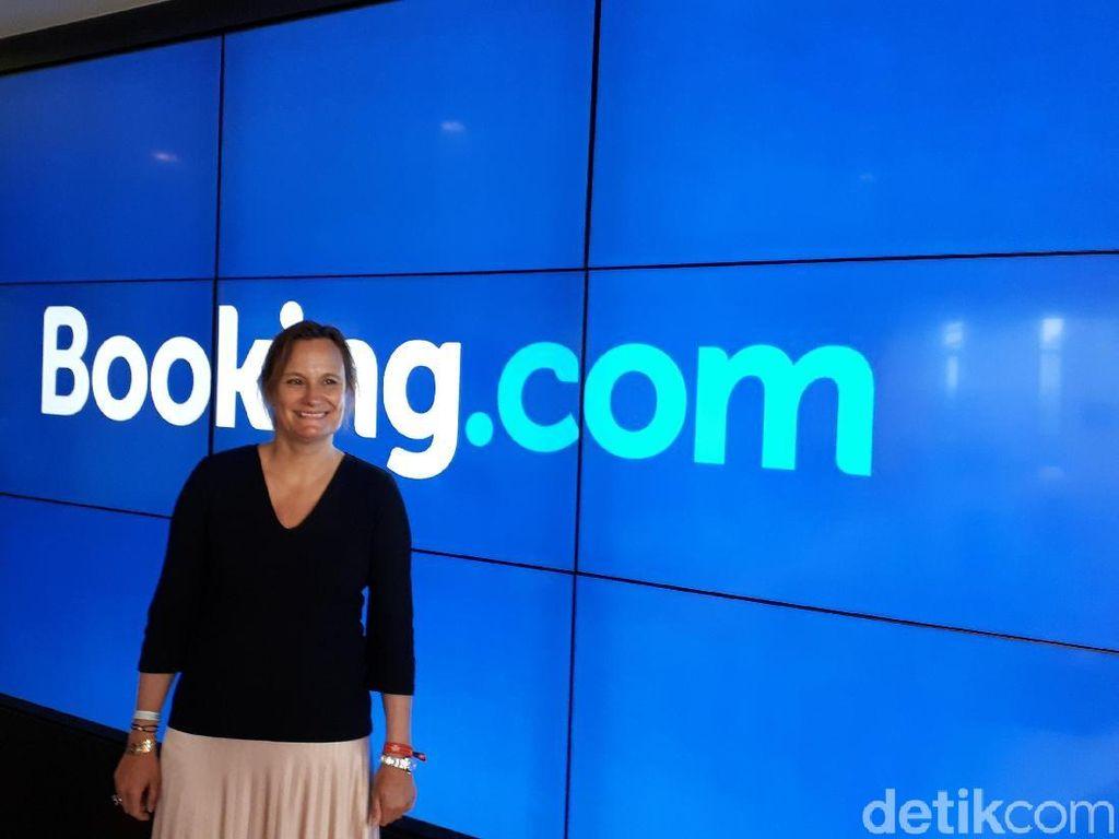 Wanita Sang CEO Website Pemesanan Hotel Terbesar di Dunia