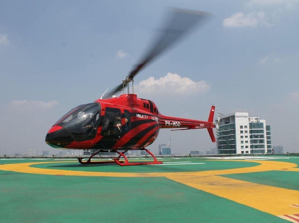 Mudik Mewah Pakai Helikopter, Berapa Bayarnya?