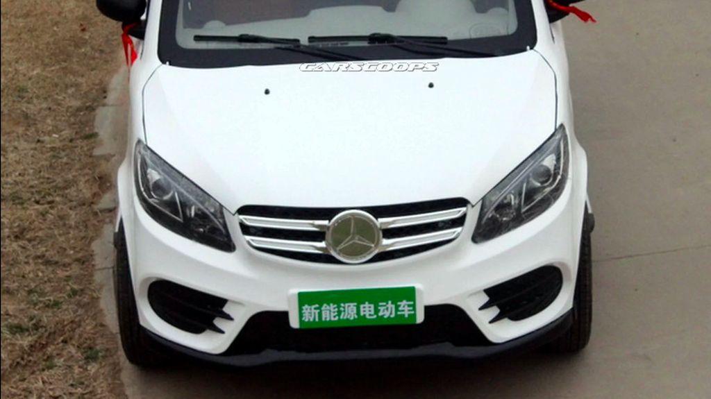 Mercy GLE dan Range Rover Evoque Palsu di China Lebih Mungil