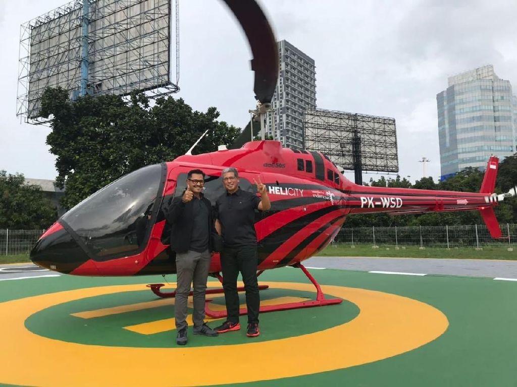 Mau Mudik Pakai Helikopter, Begini Cara Pesannya