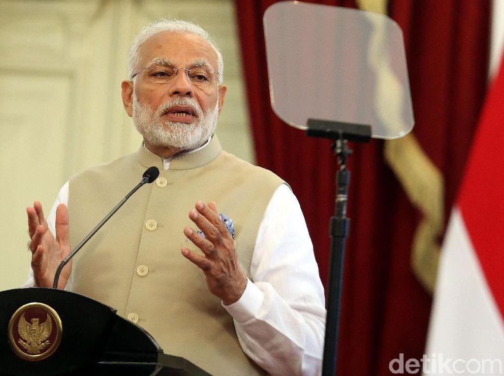 Closing Asian Games, PM India Beri Selamat ke Jokowi dan Indonesia