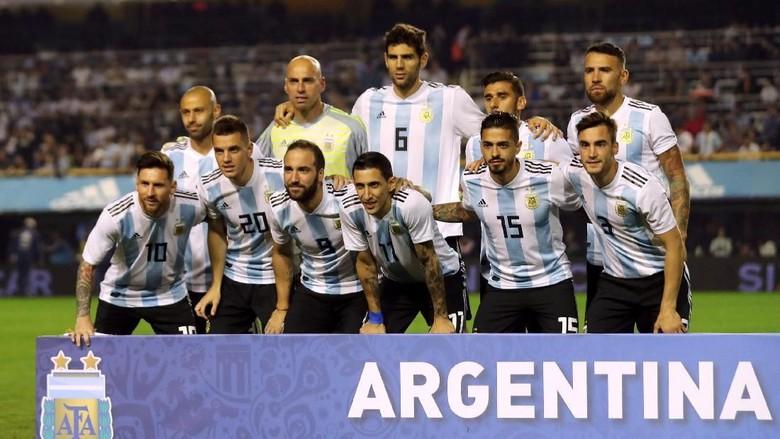 Argentina Usung Misi Pembalasan di Piala Dunia 2018