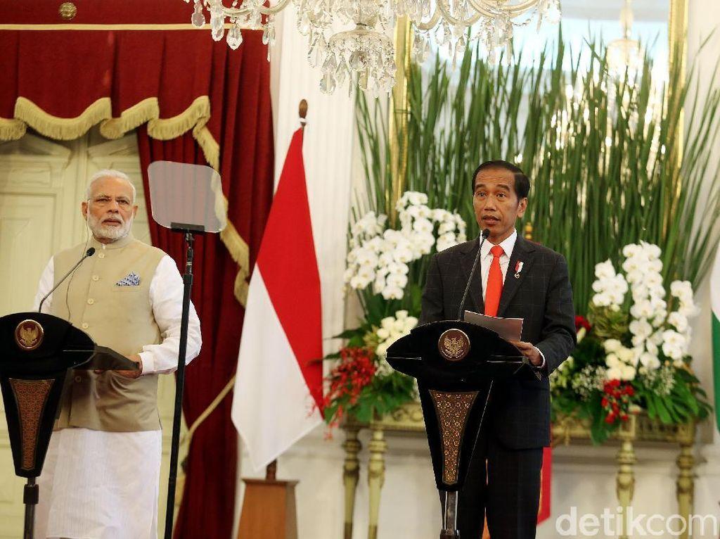 RI-India Perbaharui Kerja Sama Bidang Pertahanan