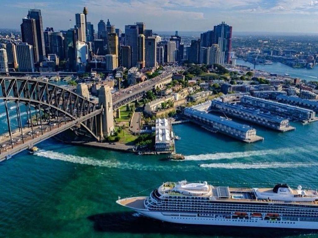 Foto: Kapal Pesiar dengan Rute Terpanjang Sedunia