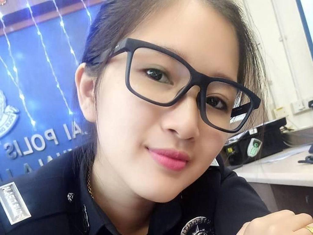 Terpikat Pesona Oli Lee, Polisi Cantik yang Buat Netizen Ingin Dipenjara