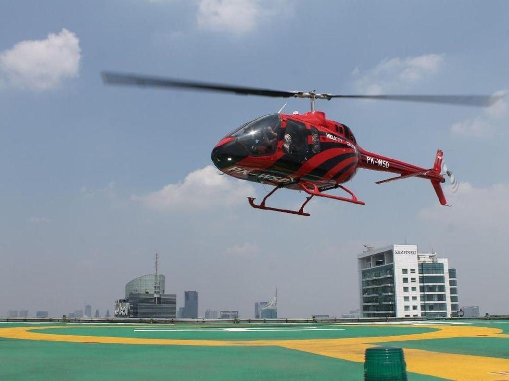 Mudik Mewah Pakai Helikopter, Rute Mana Saja?