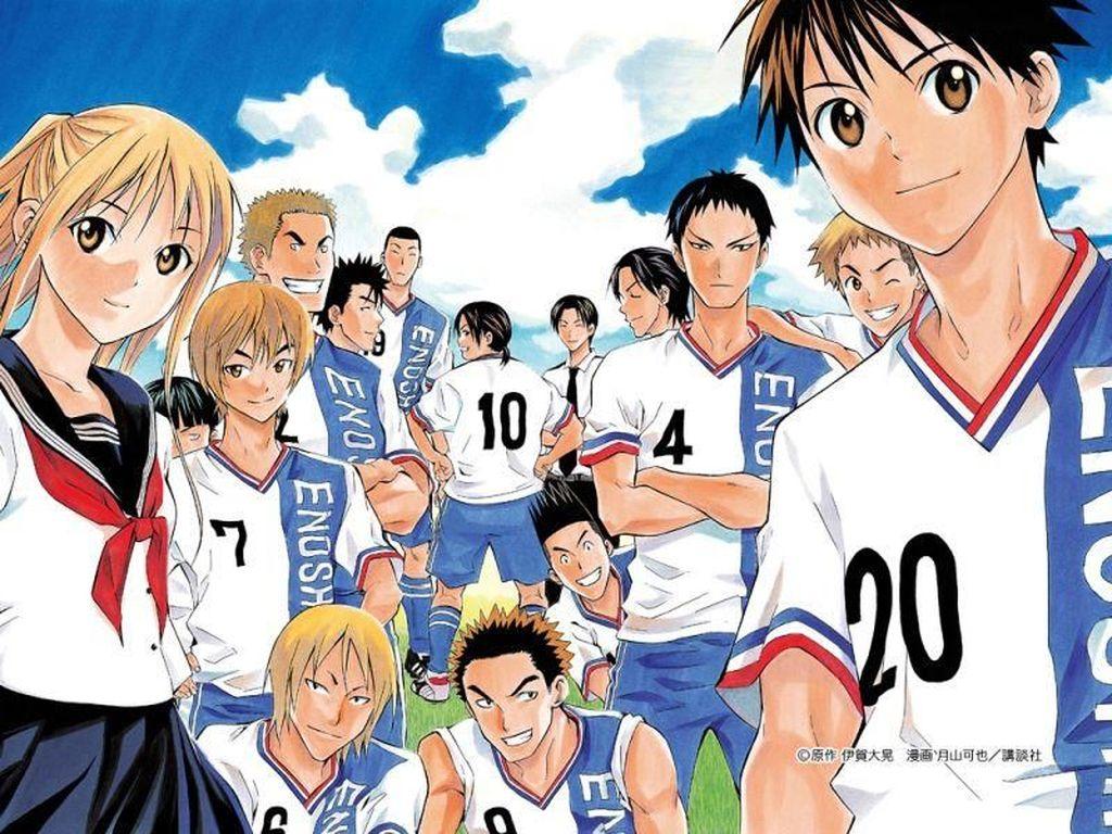 Tak Hanya Captain Tsubasa, Ini 10 Anime Sepakbola Terbaik