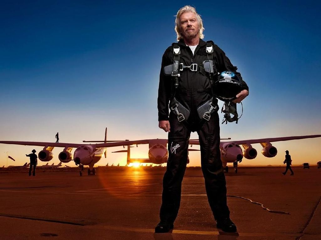 Richard Branson Siap Jadi Angkasawan Dalam Waktu Dekat
