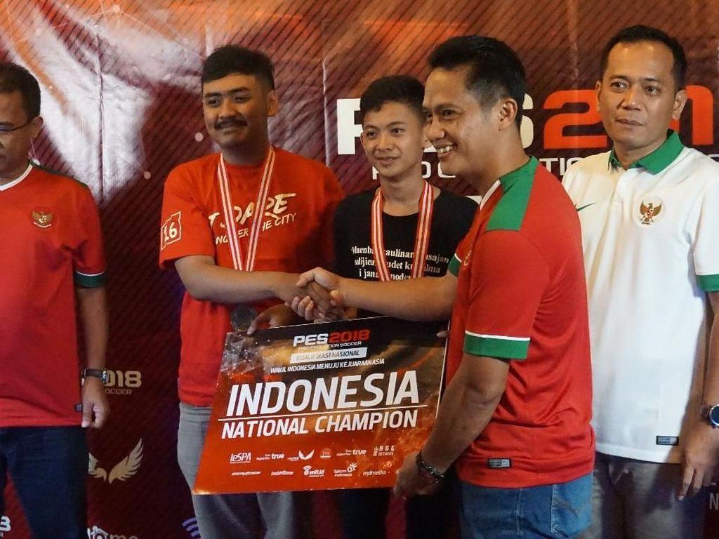 Ini Tim PES yang Wakili Indonesia di Asian Games 2018