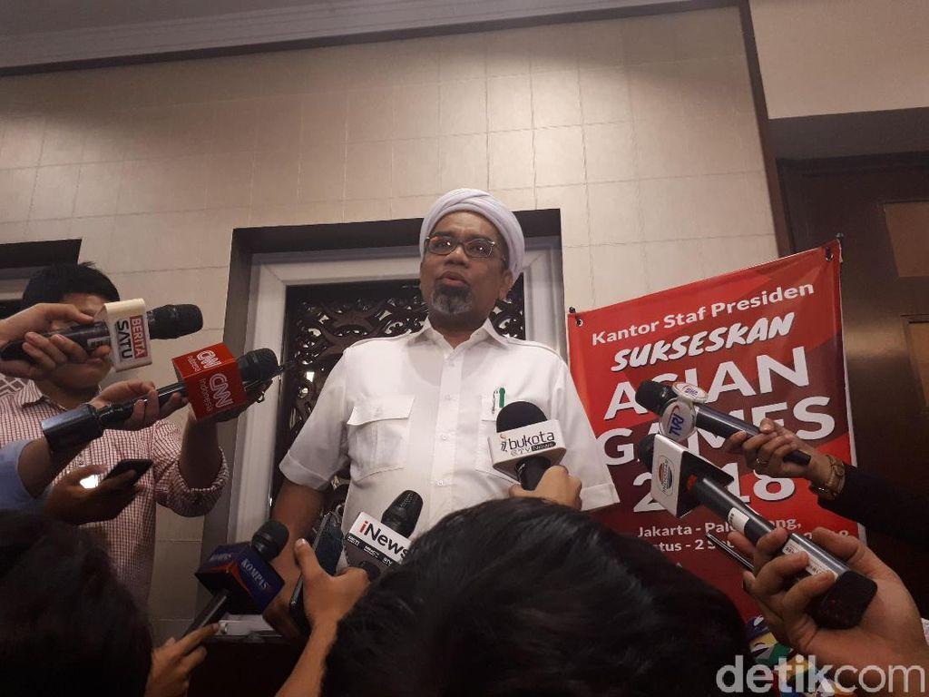Ngabalin Minta Prabowo Hati-hati Tuduh Mark Up Proyek LRT