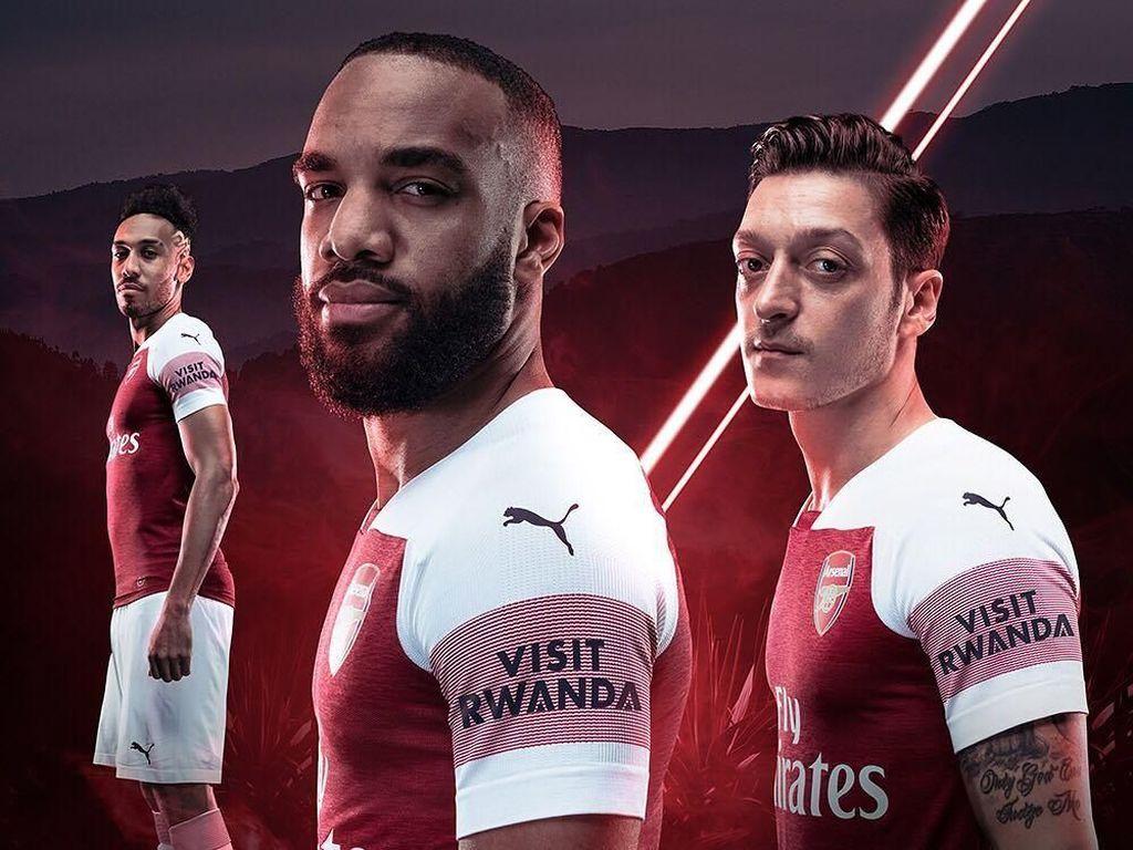 Foto: Keindahan Rwanda & Jersey Baru Arsenal
