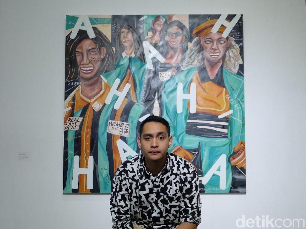 Lukisan HAHA Naufal Abshar di Cover Album Kunto Aji