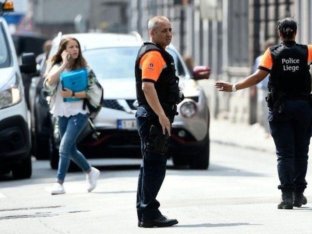 Pria Bersenjata Tembak Mati 2 Polisi dan 1 Sopir di Belgia