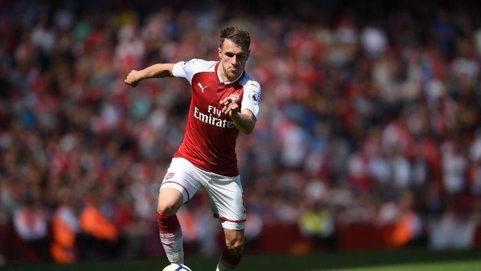Masa depan Aaron Ramsey di Arsenal dispekulasikan menyusul kandasnya pembicaraan kontrak. (Foto: Mike Hewitt/Getty Images)