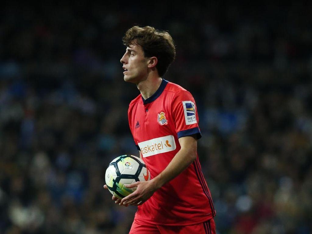 Madrid Minati Alvaro Odriozola, Ini Kata Real Sociedad