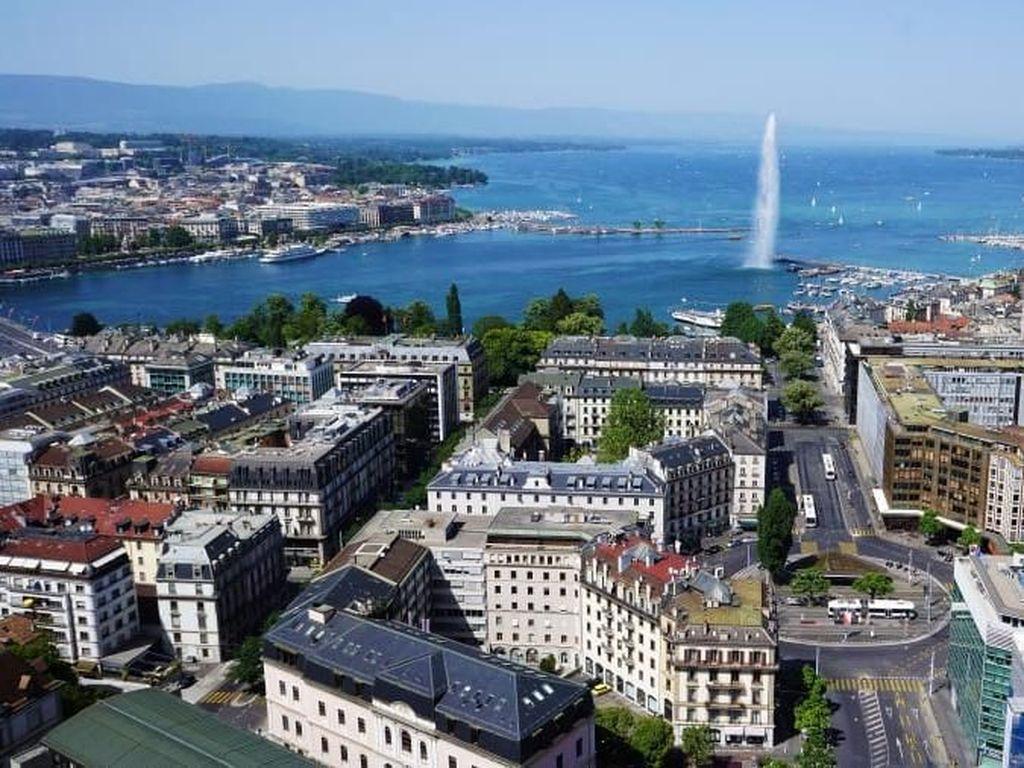 Foto: Kota-kota Dunia yang Jadi Tujuan Favorit Jet Pribadi