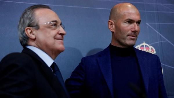 Perez ke Zidane: Bukan Selamat Tinggal tapi Sampai Jumpa Lagi