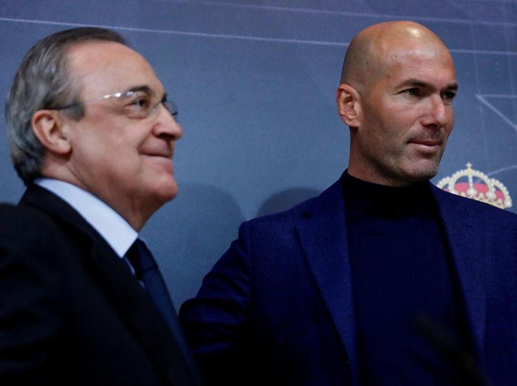 Perez: Semua Terkejut dan Tak Siap dengan Mundurnya Zidane