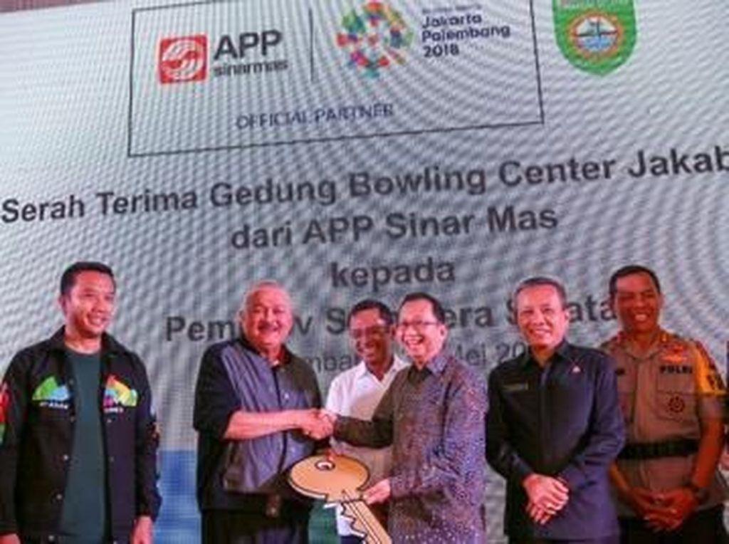 APP Sinar Mas Serahkan Jakabaring Bowling Center Ke Pemprov Sumsel