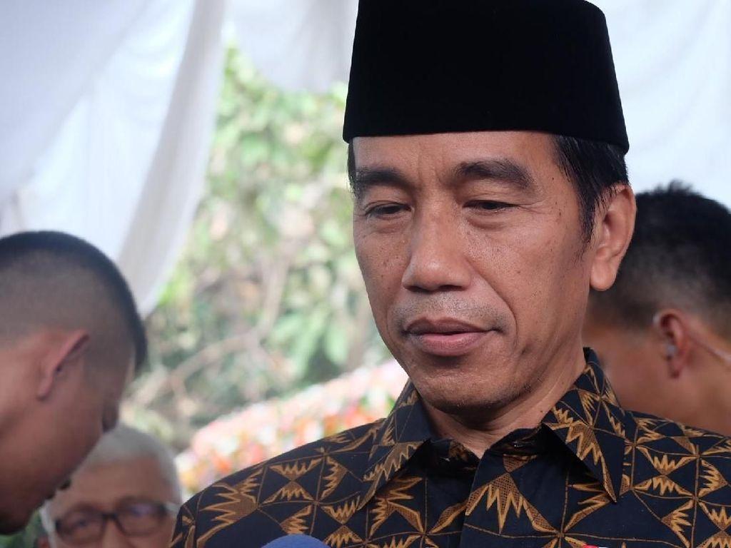 Jokowi hingga Wiranto Bukber di Kediaman OSO