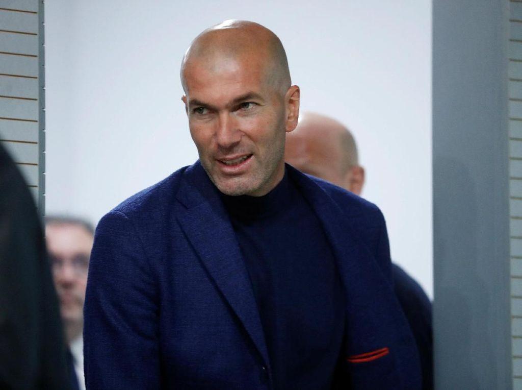Zinedine Zidane Buka Puasa Kemenangan di El Clasico