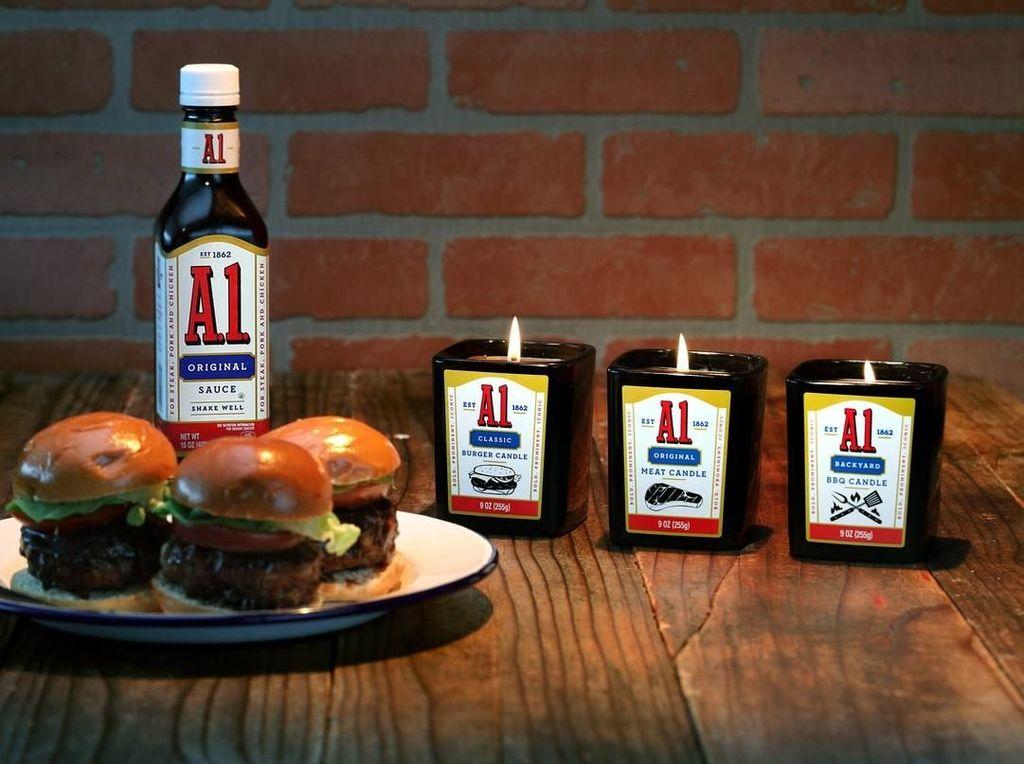 Sedapnya! Lilin Aromaterapi Ini Tebarkan Aroma Khas Steak hingga Daging Asap